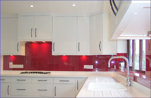 Kitchen Tiles Or Splashback exotiles - steel and glass mosaic tiles: benefits of having glass